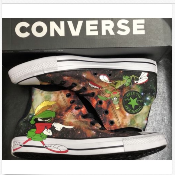 aa126aa4ade Converse All Star Looney Tunes Marvin the Martian